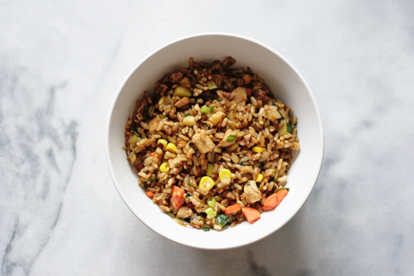Flavour-Packed Basil Fried Rice