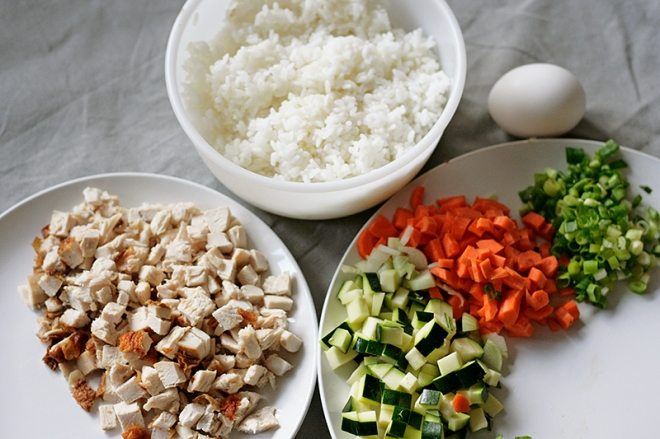 Basil-Fried-Rice-Ingredients